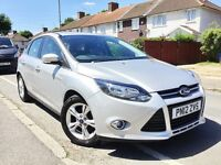 2012 FORD FOCUS 1.6 TDCI ZETEC 5DR,1 OWNER,52000 MILES,NEW MOT AND SERVICE DONE,£20 TAX,BARGAIN.