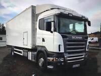 Scania fridge body 18 ton very clean truck