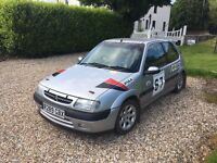 **REDUCED** MUST GO - Logbooked Citroen Saxo VTR Rally Car