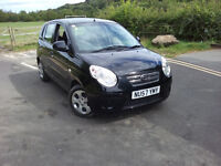 2008 KIA PICANTO ICE 1.1 PETROL, 1 OWNER, TESTED, 40,000 GENUINE MILES, 5 DOOR
