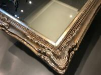 7ft x 4ft French antique Louie Wall Mirror - shabby chic