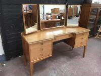 Fabulous mid century dressing table by Alfred Cox.