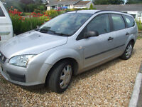 Ford Focus 2006 manual diesel estate