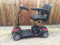 Care Co Zoom foldable mobility scooter. Hardly used