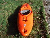 Liquid Logic Remix 69 top specification white water kayak