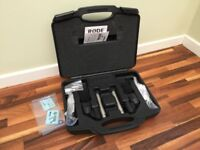 Rode NT5 Matched Pair with Original Case, Paperwork, Clips and Fittings