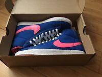 Brand new real Nike blazer trainers.