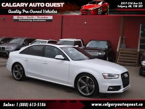 2014 Audi S4 3.0 Progressiv (Quattro AWD) LEATHER/SUNROOF
