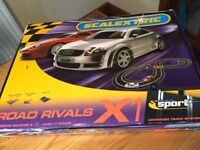 SCALEXTRIX RACING CAR SET - AUDI TT