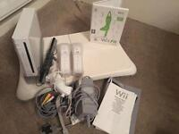 Nintendo Wii with Wi Fit game and balance board