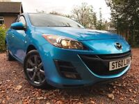 *12 MTHS WARRANTY*12 MTHS MOT*2011(60)MAZDA 3 1.6 TS2(115BHP)5DR WITH A FULL SERVICE RECORD*