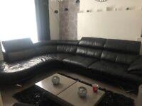 Dfs Leather Cosmos Corner Sofa