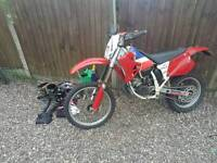1992 honda cr125 evo class Daytime use road legal