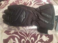 Ladies motorbike gloves size small