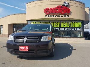 2010 Dodge Grand Caravan SE STOW AND GO 3 ZONE TEMP ALLOY 6 PWR