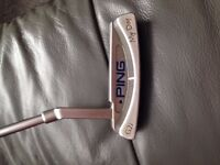 ping g2i my day putter 33inch length + new prov 1 or pro v1x ball