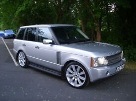 """LAND ROVER RANGE ROVER TD6 VOUGE , 22"""" ALLOYS , bmw x5 audi q7 mercedes ml discovery sport cayenne"""