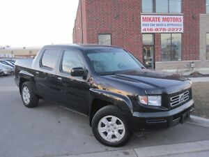 Sporty 2006 Honda Ridgeline EX-L, Sold Certified & E-Tested