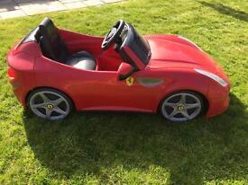 Ride on Ferrari