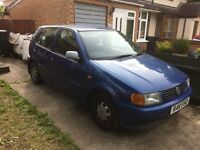 1998 VW Polo 1.6 CL Petrol Manual 5-door Blue 67000 miles