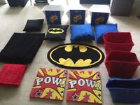 Selection Batman Bedroom Accessories **NEW**