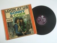 Sony & Cher Look at US 1965 Debut Album Vinyl LP Record - Fantastic Collectors Music Item