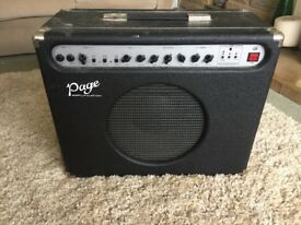 Page G65 Guitar Amp Amplification