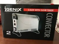2KW Convector Heater / Electric Heater x3 / New still boxed