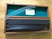 Boxed Vintage Plastic Railway Curves
