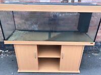 5ft Juwel Rio 400 in beachwood marine tropical fish tank aquarium (delivery / installation )