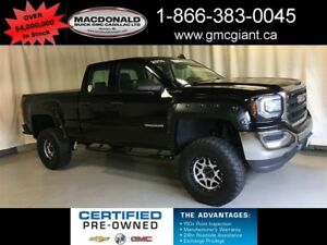 2016 GMC Sierra 1500 4X4 w/6 inch LIFT PACKAGE