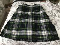 Kilt dress Gordon and accessories