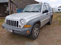 Jeep Cherokee 2006 2.4 (145bhp) 4X4 Sport Station Wagon 5d 2429cc