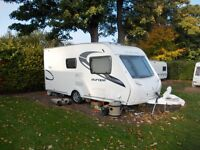 Sterling Europa 460, 2011, 2 Berth Luxury caravan with Extra Large Bathroom in Outstanding Condition
