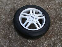 ford focus alloy wheel and good tyre