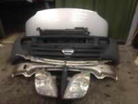 LDV Maxus 2005-2009 Front END bumper radiators slam panel headlight bonnet