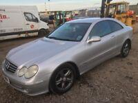 Mercedes Benz clk 270 spare parts available