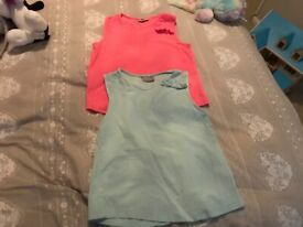 763adac90 X11 12-18 months baby girl denim includes TED BAKER dress   in Rhyl ...