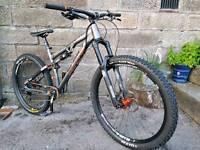 Whyte G150 Enduro Mountain Bike 650b Wheels