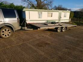 Brian James 18x8ft 3.5 ton trailer with ramps