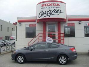 2012 Honda Civic LX 38, 520 KM