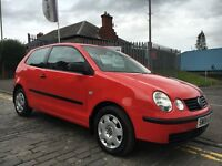 VOLKSWAGEN POLO 1.2 E, 04 PLATE 2004.....84,000 MILES....LONG M.O.T....CRACKING FIRST CAR...