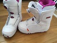 Salomon Pearl Boa snowboarding boots