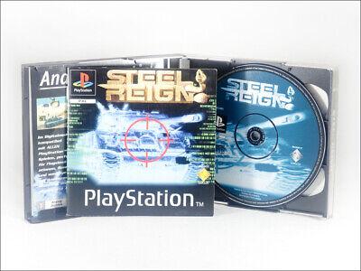 """""""Steel Reign"""" mit Anleitung & OVP, Spiel für Playstation 1, PSX / PS1 / PS2"""