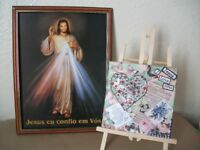 Free New Original Christian Painting and Bible