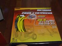 PrimeLight - Outdoor Extension Cord - 100ft long - New in Box