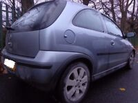 2006 top spec vauxhall corsa 1.2 sxi+ moted and cheap tax DRIVEAWAY OR FREE DELIVERY