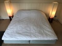 IKEA double bed with Sultan mattress in good clean condition