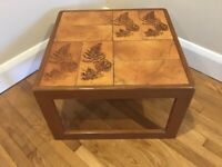 Mid Century 1970's Teak & Tiled. Coffee Table.