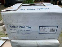 Ripple wall tiles